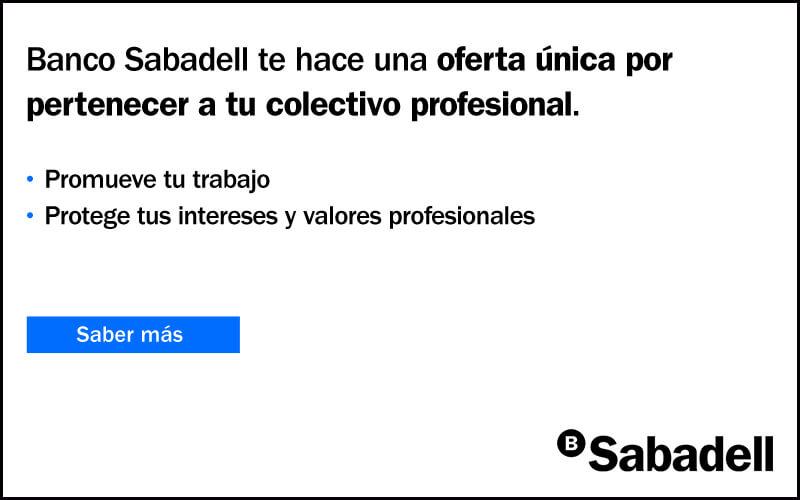 Convenio Banco Sabadell para socios mde UEPAL