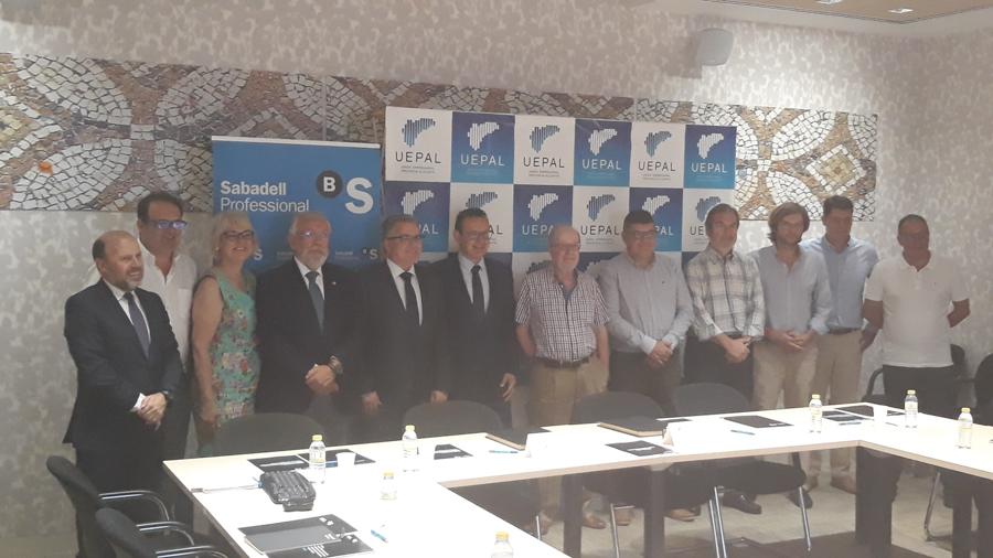 COMITÉ EJECUTIVO 27 JUNIO 2019 Y FIRMA CONVENIO BANCO SABADELL